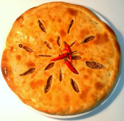 Осетинский пирог Мясной пир